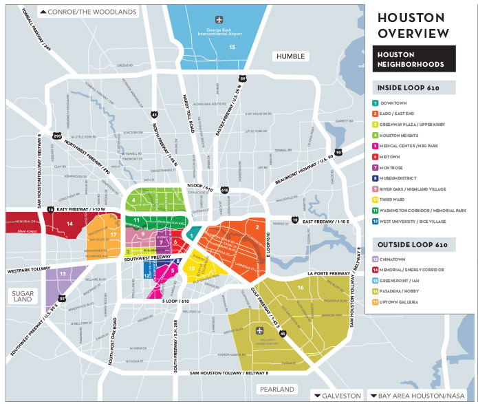 Houston Map Pdf MAPS   ASLH's 48th ANNUAL MEETING   Univeristy of Houston Law Center