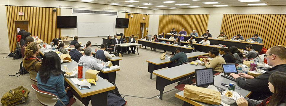UH Law Center Black Law Students Association hosted a panel discussing the versatility of a J.D. degree.